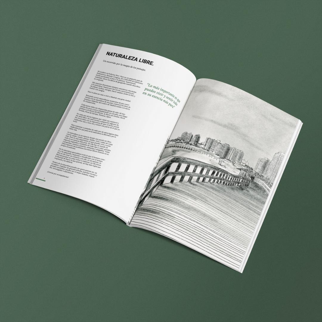 Diseño editorial - Caminante