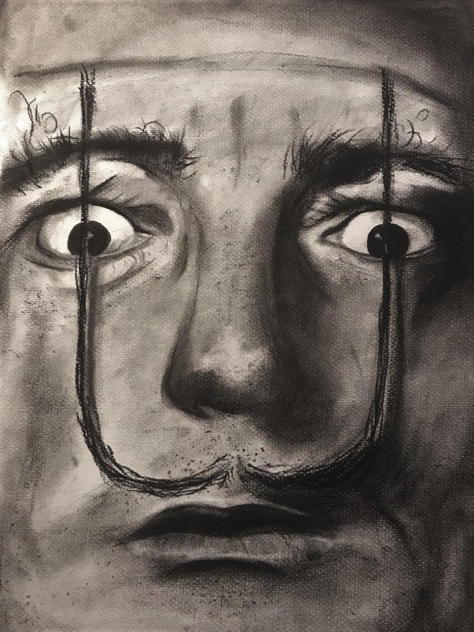 Salvador Dalí - Carboncillo