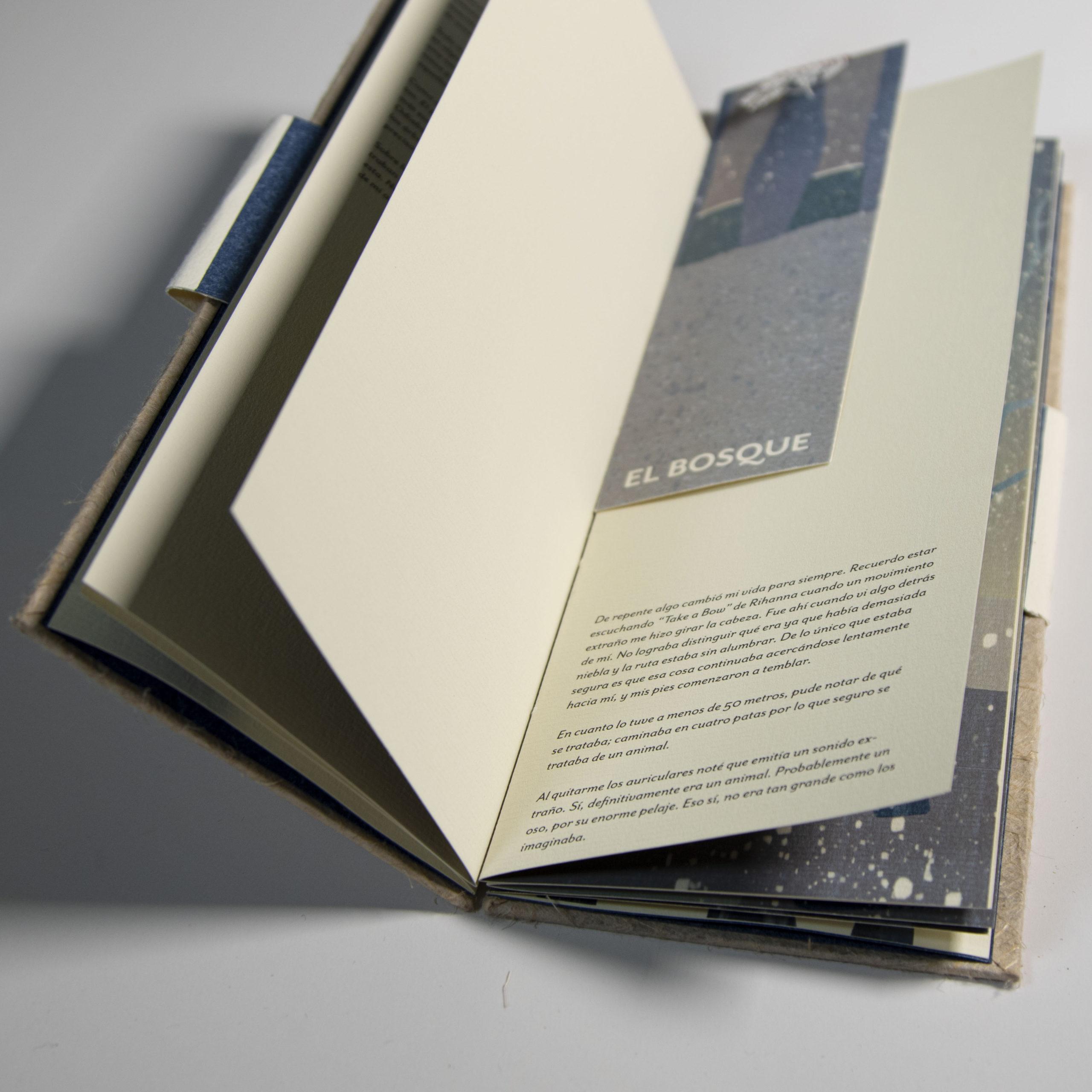 Diseño editorial-El bosque